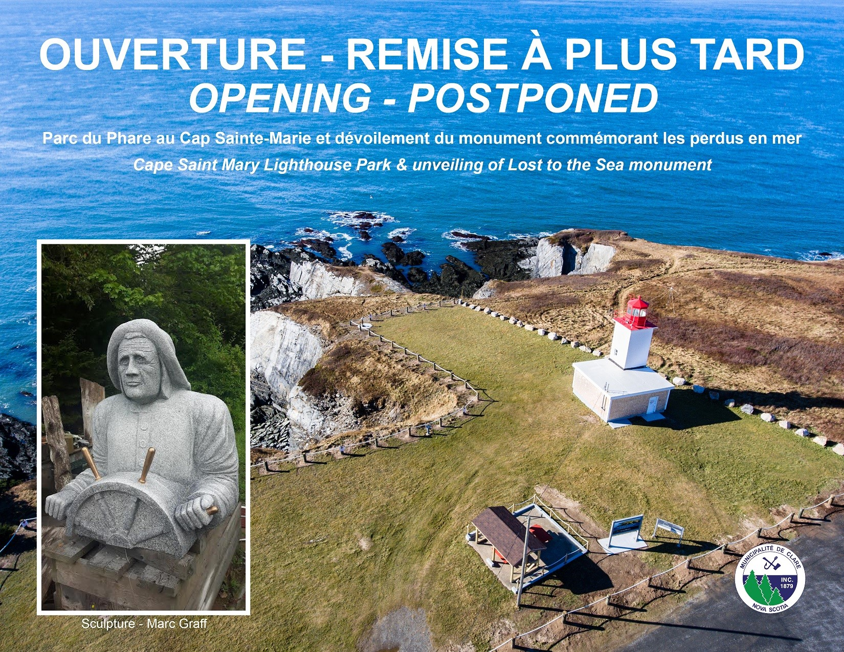 Cape opening May 17 Postponed
